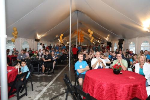 50th Anniversary tent celebration